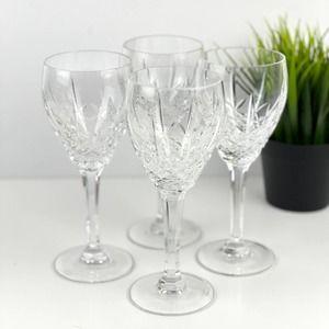 WATERFORD Marquis Laurent Crystal Wine Glasses 4
